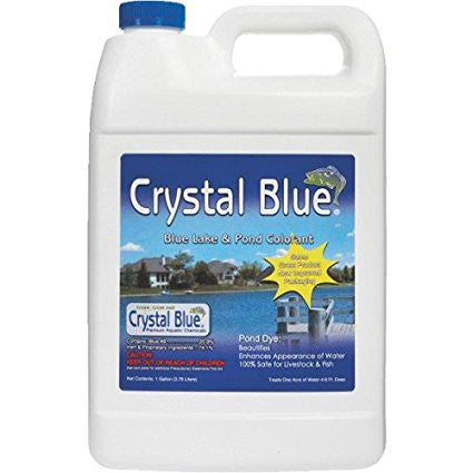 Sanco Industries Crystal Blue Lake and Pond Dye, 1 Gallon