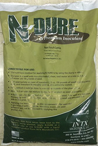 Inoculant Organic for Pea Lentil Vetch Broad Beans N-Dure 1 ounce From The Dirty Gardener