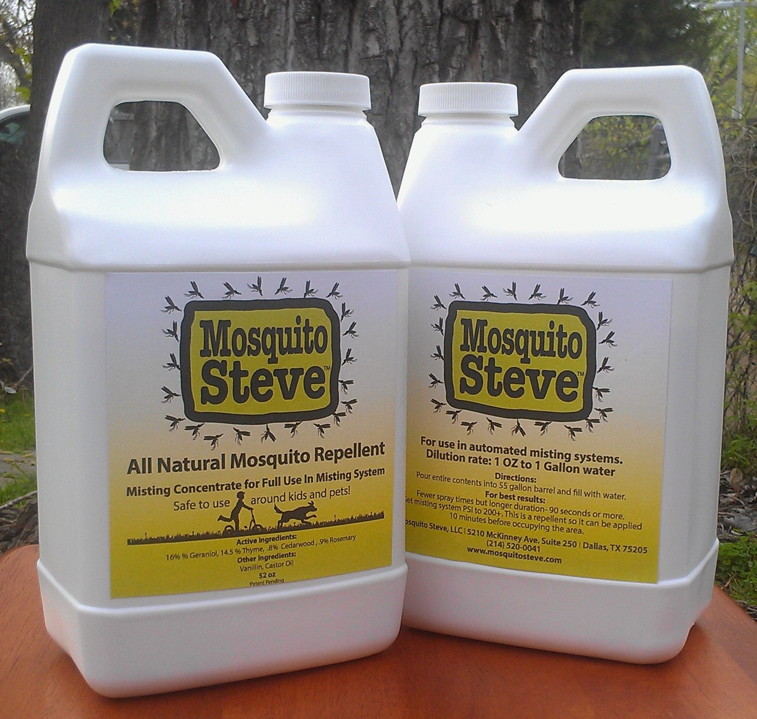 Concentrated Mosquito Repellant DIY Misting Concentrate Refill for 55 Gallon Systems