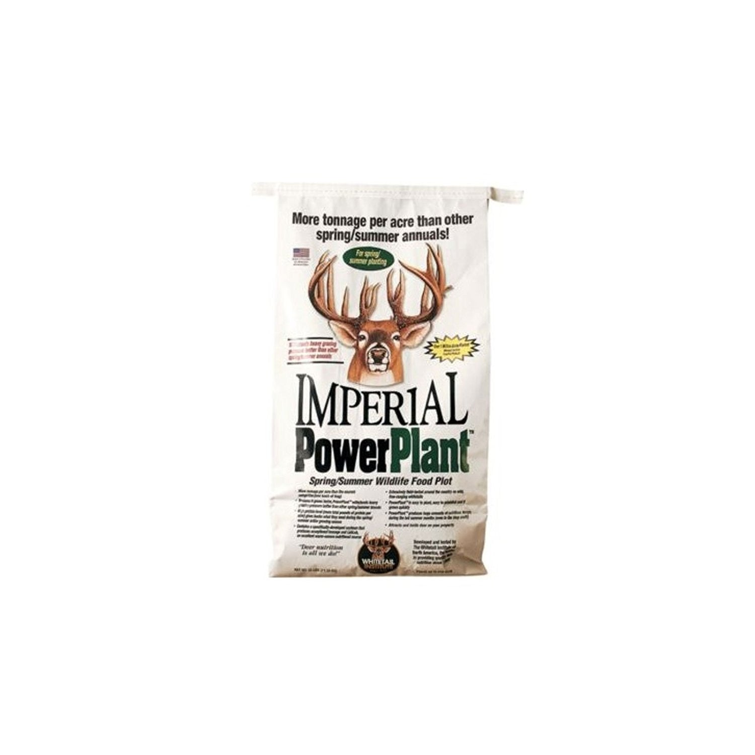Whitetail Institute 25 Pounds Imperial Power Plant Wildlife Food Plot Seed