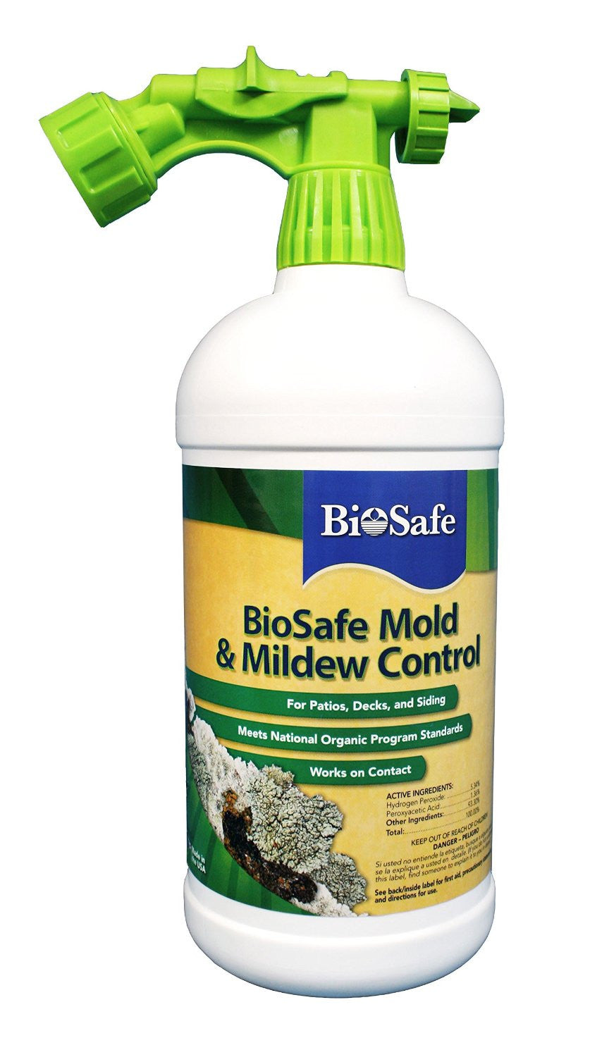 BioSafe Systems Mold & Mildew Control Spray, 32 Ounces