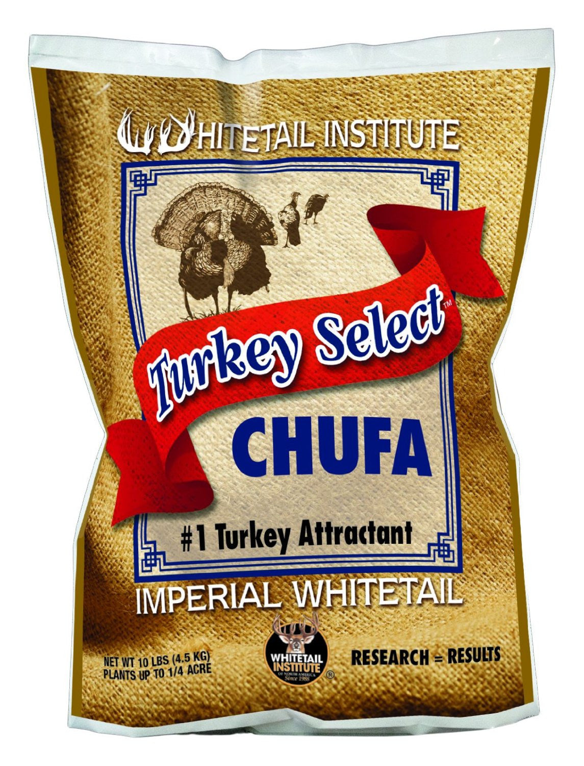 Whitetail Institute 10 Pounds Select Chufa Turkey Attractant Seed