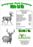 The Dirty Gardener 25 Pounds White Tail Deer Food Plot Seed Mixture