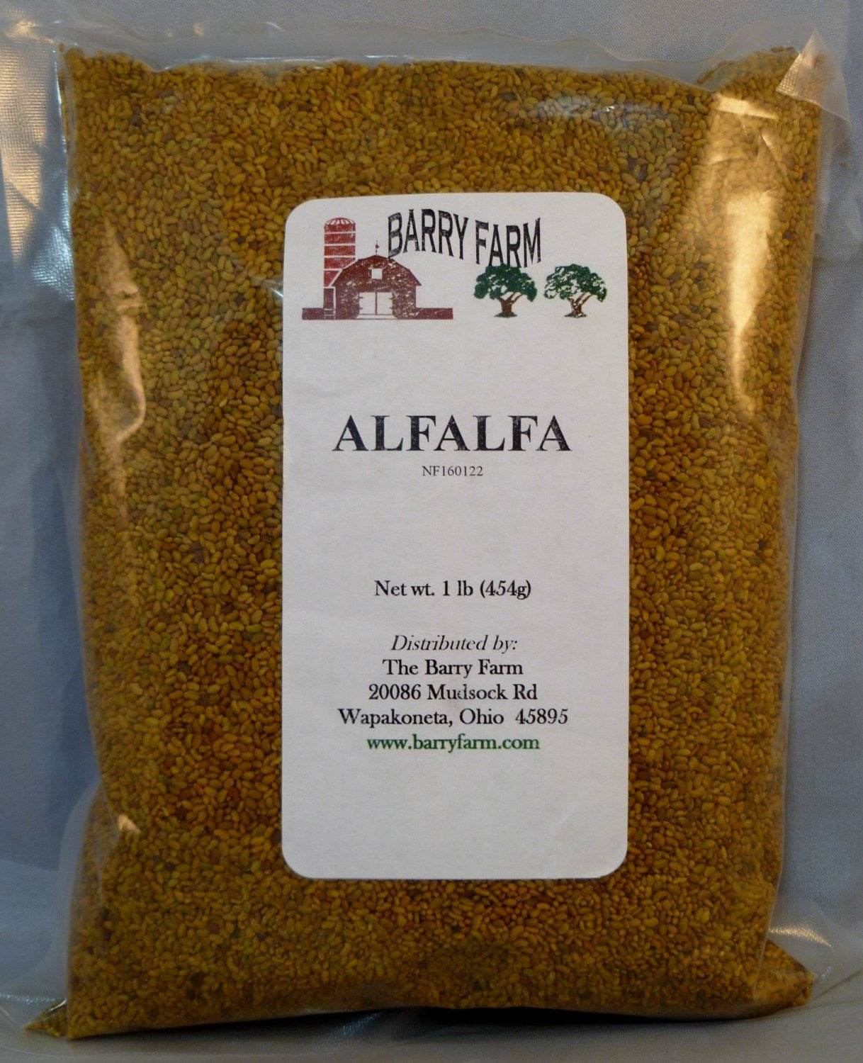 The Dirty Gardener Whole Alfalfa Sprouting Seeds, 1 Pound | The ...