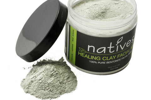 Natives 100% Bentonite Clay Facial Mask