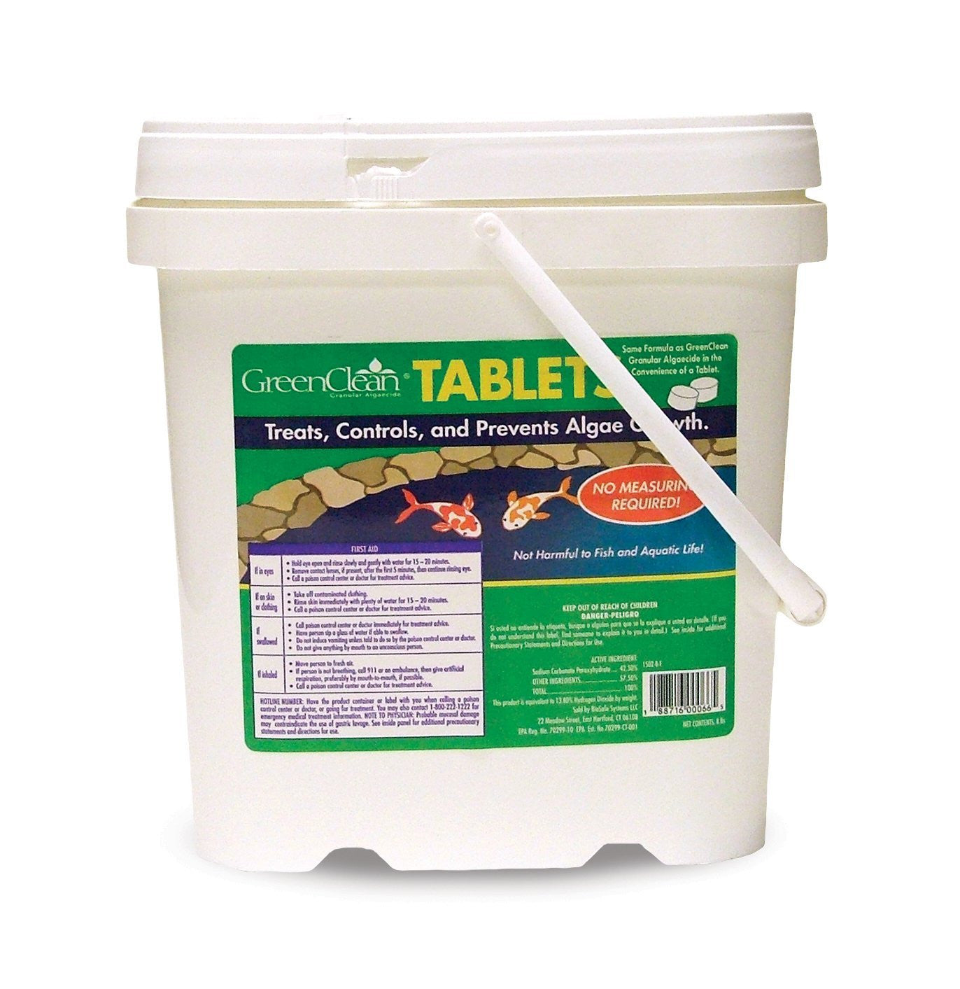 Copy of Copy of BioSafe Systems GreenClean Tablets, 16 Pound.