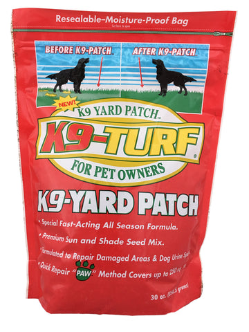 K9 Yard Turf Grass Patch and Yard Repair for the Pet Owner