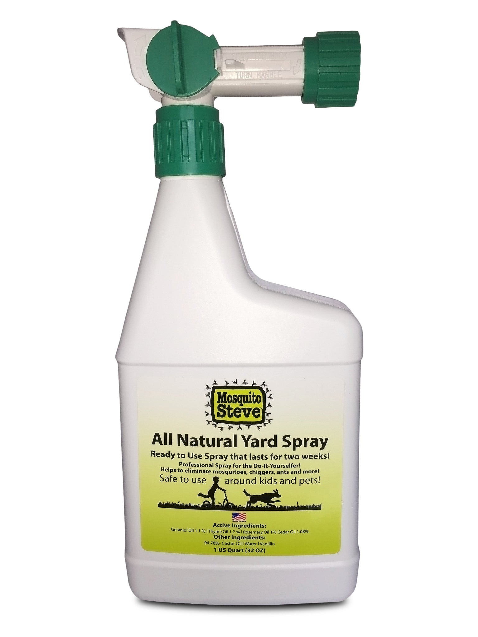 Mosquito Repellant Hose End Sprayer Package Safe For Kids