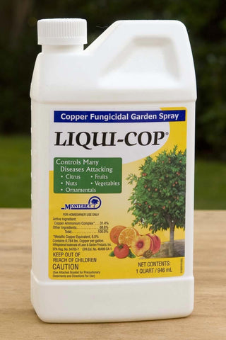 Liqui-Cop Concentrate  Copper Fungicidal Garden Spray 1 Quart