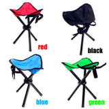 Outdoor portable lightweight  Stool Tripod Three feet Chair with 4 color option