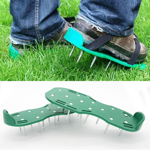 Lawn Aerator Spikes Aerating Shoes