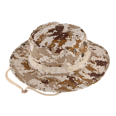 Military Camouflage Hat  with 6 different colors.