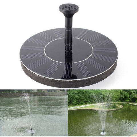 Solar Power Fountain Pool Water Sprinkler