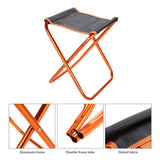 Folding aluminum high quality chair.