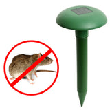 Solar Power Eco-Friendly Ultrasonic Gopher Mole Snake Mouse deterrent.
