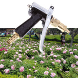 Brass Garden Water Gun Sprayer.  High pressure, variable spay.  High Quality.