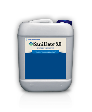 SANIDATE 5.0 SANITIZER/DISINFECTANT 5 GALLON