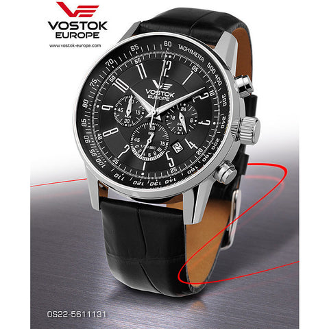 Vostok Europe Gaz-14 Limousine Chrono Watch OS22/5611131