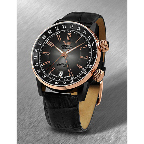 Vostok Europe Gaz-14 Limousine Dualtime Watch 2426/5603061