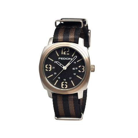 Fedon 1919 Army with Nato Strap Watch FDAF002