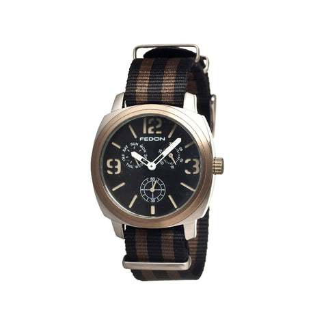 Fedon 1919 Army with Nato Strap Watch FDAG002