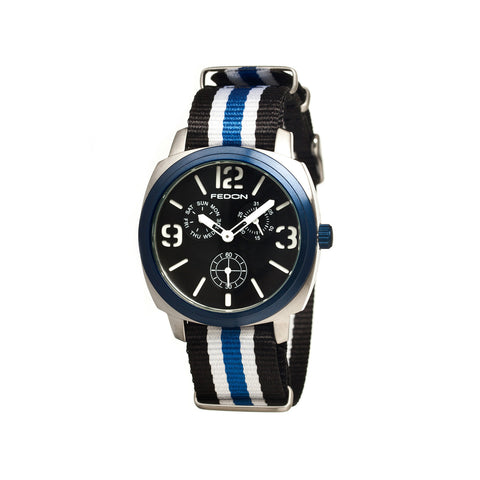 Fedon 1919 Army with Nato Strap Watch FDAG003