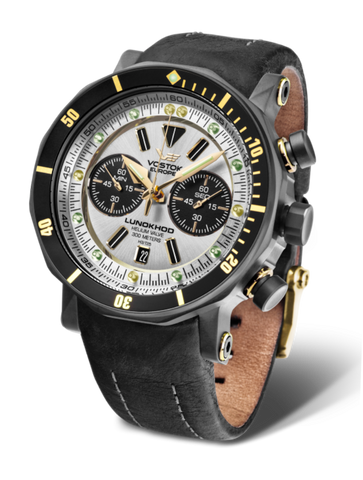 Vostok Europe Lunokhod-2 Chrono Watch 6S21/620E277