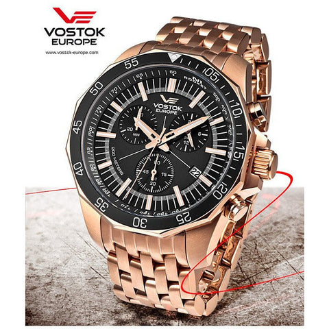 Vostok Europe N1 Rocket Chrono Quartz Watch 6S30/2259179B