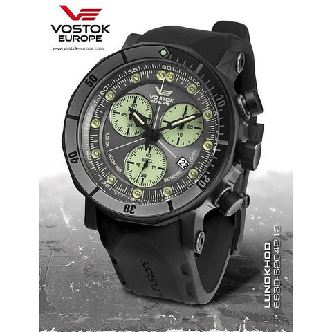 Vostok Europe Lunokhod-2 Chrono Watch 6S30/6204212