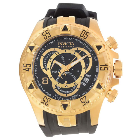 Invicta Men's 80639 Excursion Quartz 3 Hand Black Dial Watch