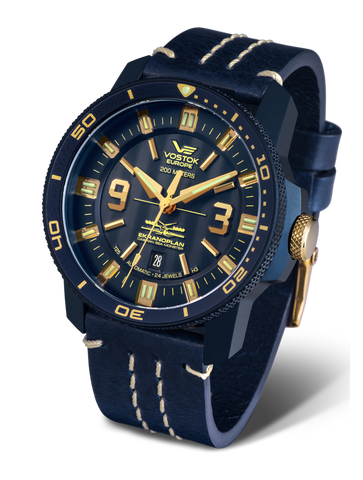 Vostok Europe Ekranoplan Automatic Watch NH35A-546D511