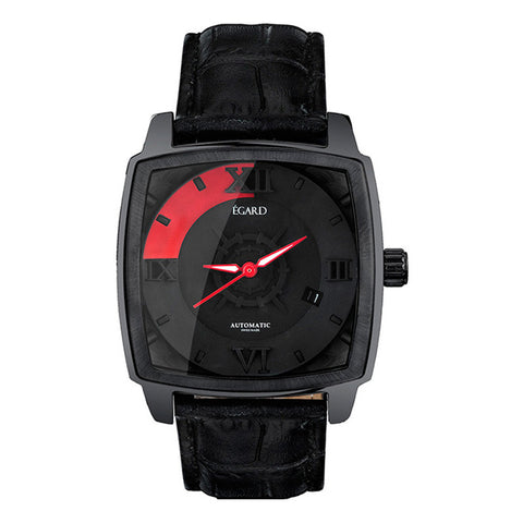 Égard HUNTER BLACK Watch GRD-HUN-BLK