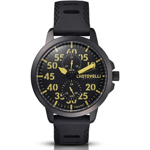 Chotovelli Airliner 3300 Retro Aviation Watch JTS3300-12