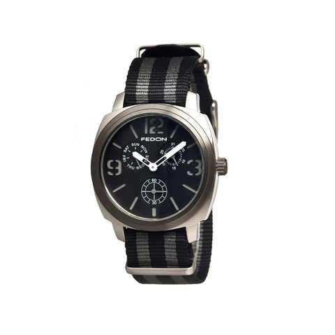 Fedon 1919 Army with Nato Strap Watch FDAG004