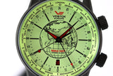 Vostok Europe Gaz-14 Limousine World Timer Watch 2426/5604240