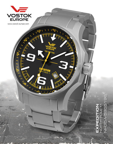 Vostok Europe Expedition NORTH POLE - 1 Automatic Watch NH35/5955196B