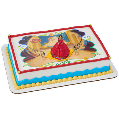 Elena Of Avalor Edible Cake And Cupcake Toppers