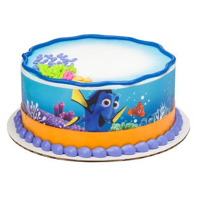 Finding Dory edible cake and cupcake toppers