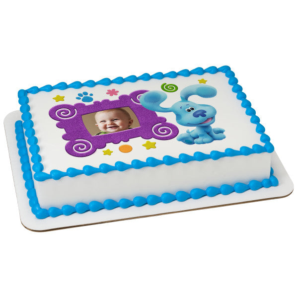 Blue's Clues edible cake topper