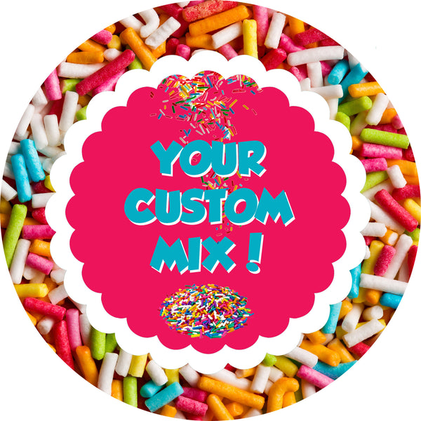 Holiday Custom Sprinkles