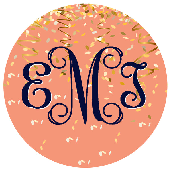 Edible monogram