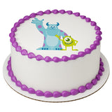 Monsters Inc edible cake topper