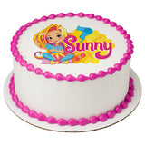 Sunny Day cake topper