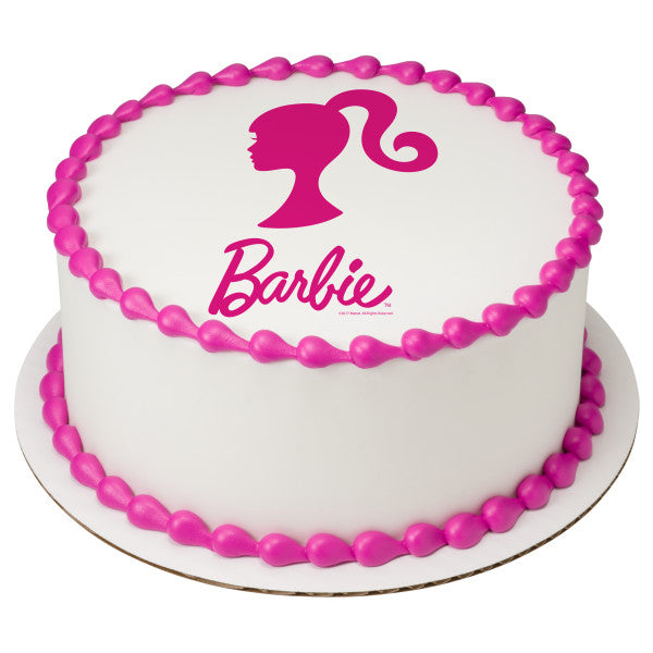 Barbie cake topper
