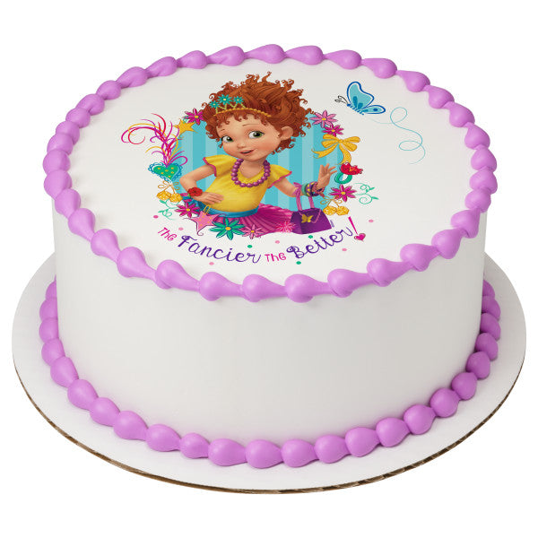 Magnificent Fancy Nancy Cake Topper Sugarprintcess Funny Birthday Cards Online Barepcheapnameinfo