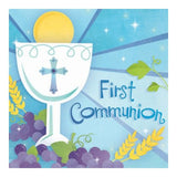 First Communion cake topper