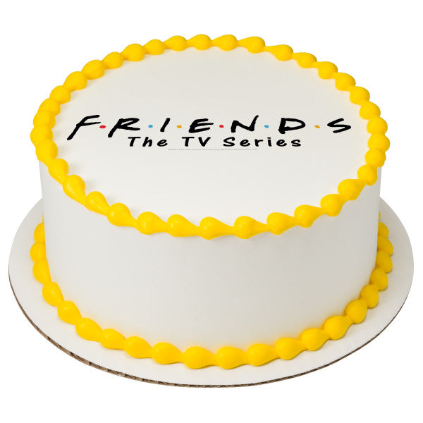 Friends TV Show cake topper