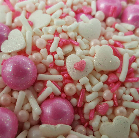 Baby girl sprinkle mix