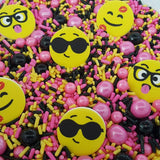 Emoji sprinkle mix