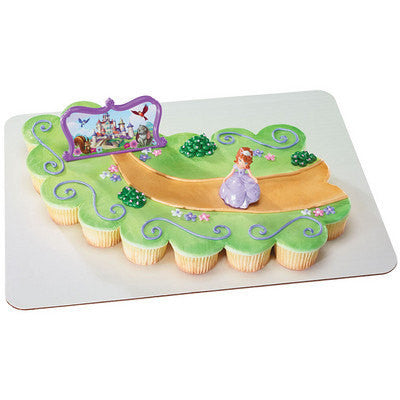 Sofia the First 3d cake topper toys